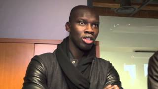 Pa-Modou Kah introduces himself to the