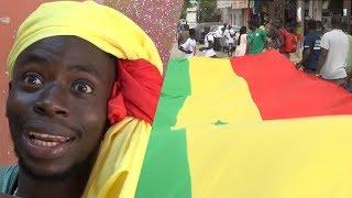 Finale CAN 2019 :  Ambiance exceptionnelle à Dakar, les rues  Habillées  aux couleurs nationales