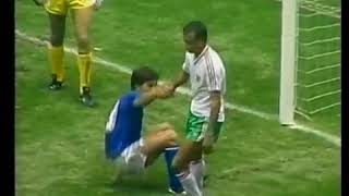 Футбол ЧМ 1986 Матч 1 Италия Болгария Обзор