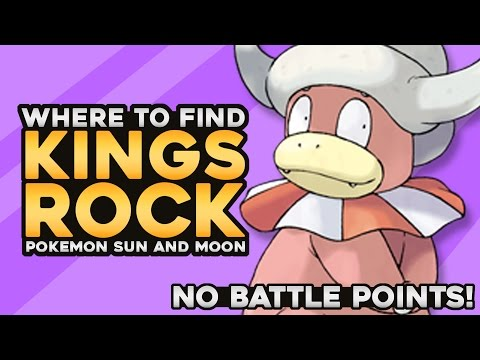 EASY KING'S ROCK! | Pokemon Sun And Moon