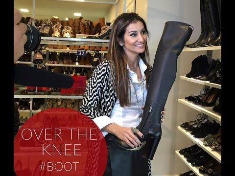 Botas? OVER THE KNEE  E  ANKLE BOOT no Kanal K.