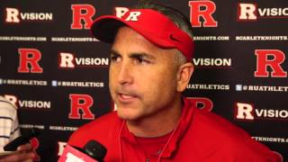 Rutgers Kyle Flood prepares for Navy team will wear white helmets to show respect