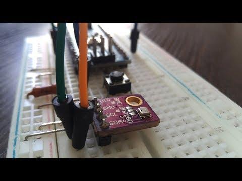 Барометр BME280. Датчик температуры, влажности, давления