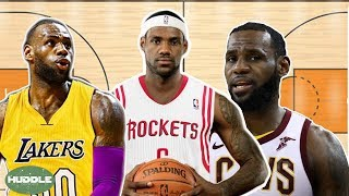 The BATTLE For Lebron James! Who Will Win? | Huddle