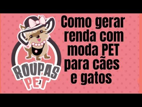 CURSO ROUPAS PET, COMO GERAR RENDA COM MODA PET APRENDA CONFECCIONAR ROUPAS PARA CÃES E GATOS