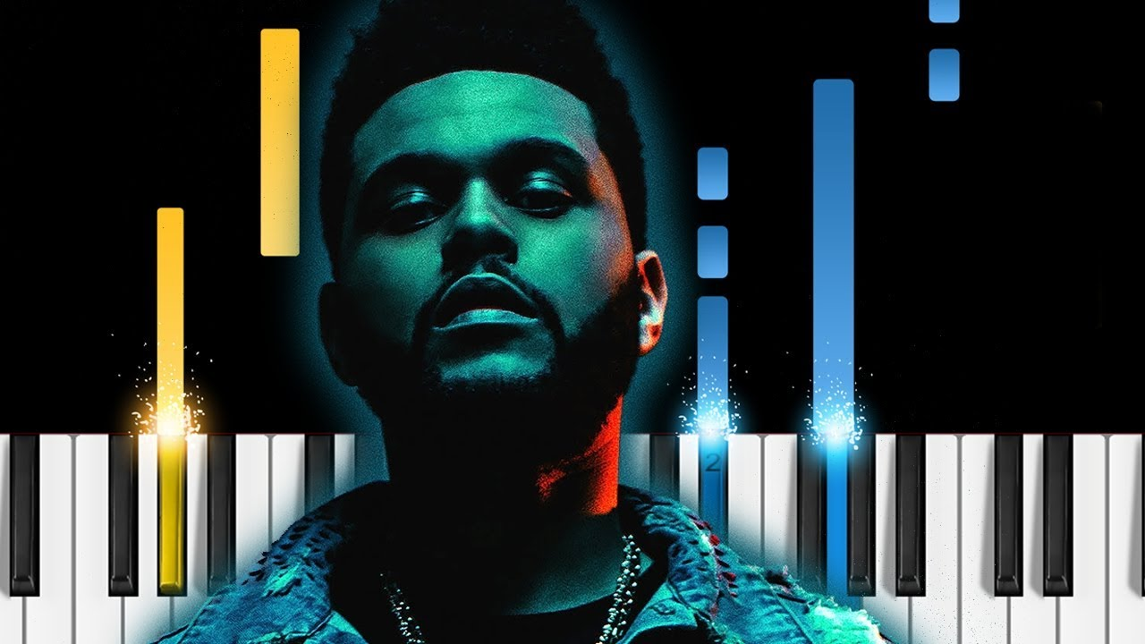 The Weeknd Call Out My Name Piano Tutorial