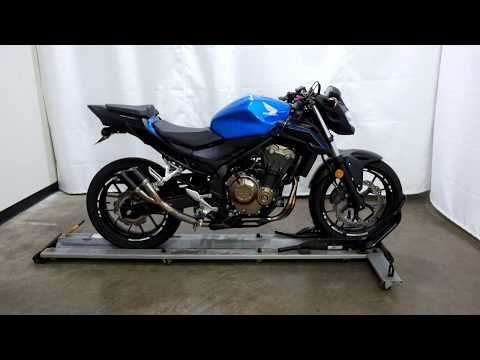 OSN0474 2018 Honda CB500F – used motorcycles for sale– Eden Prairie, MN