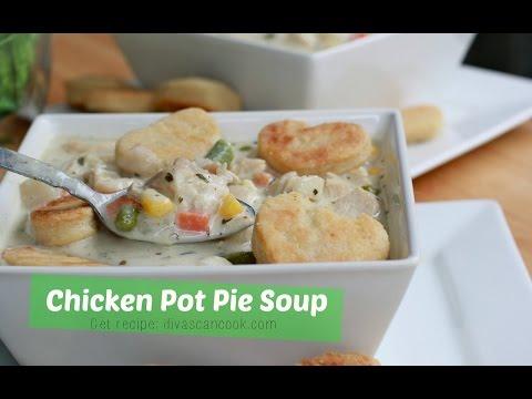 Bangin' Creamy Chicken Pot Pie Soup