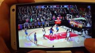 Gameplay video Htc ONE- NBA 2k13