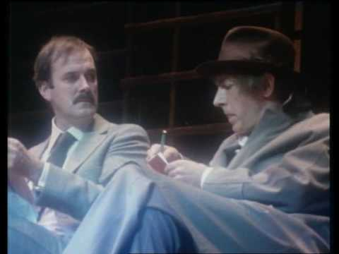 Peter Cook - John Cleese (good quality)