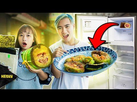 Thử Thách 24h Sinh Tồn Với Đồ Ăn Thừa Trong Tủ Lạnh | HEAVY
