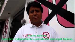 En breve con el candidato independiente Andres Sanchez