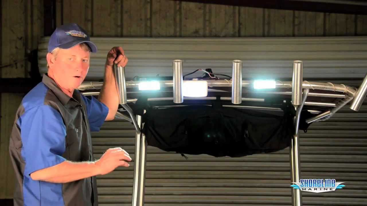 how to install overhead led dock lights how to install overhead led dock lights
