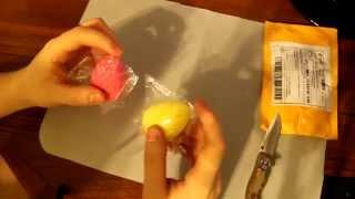 2 Пакета ( AliExpress ) Прикольные женские Часики и непонятные мягкие яички ))