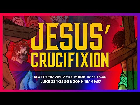 Sunday School Lessons: The Crucifixion Easter Story For Kids From Matthew 26 | ShareFaith.com