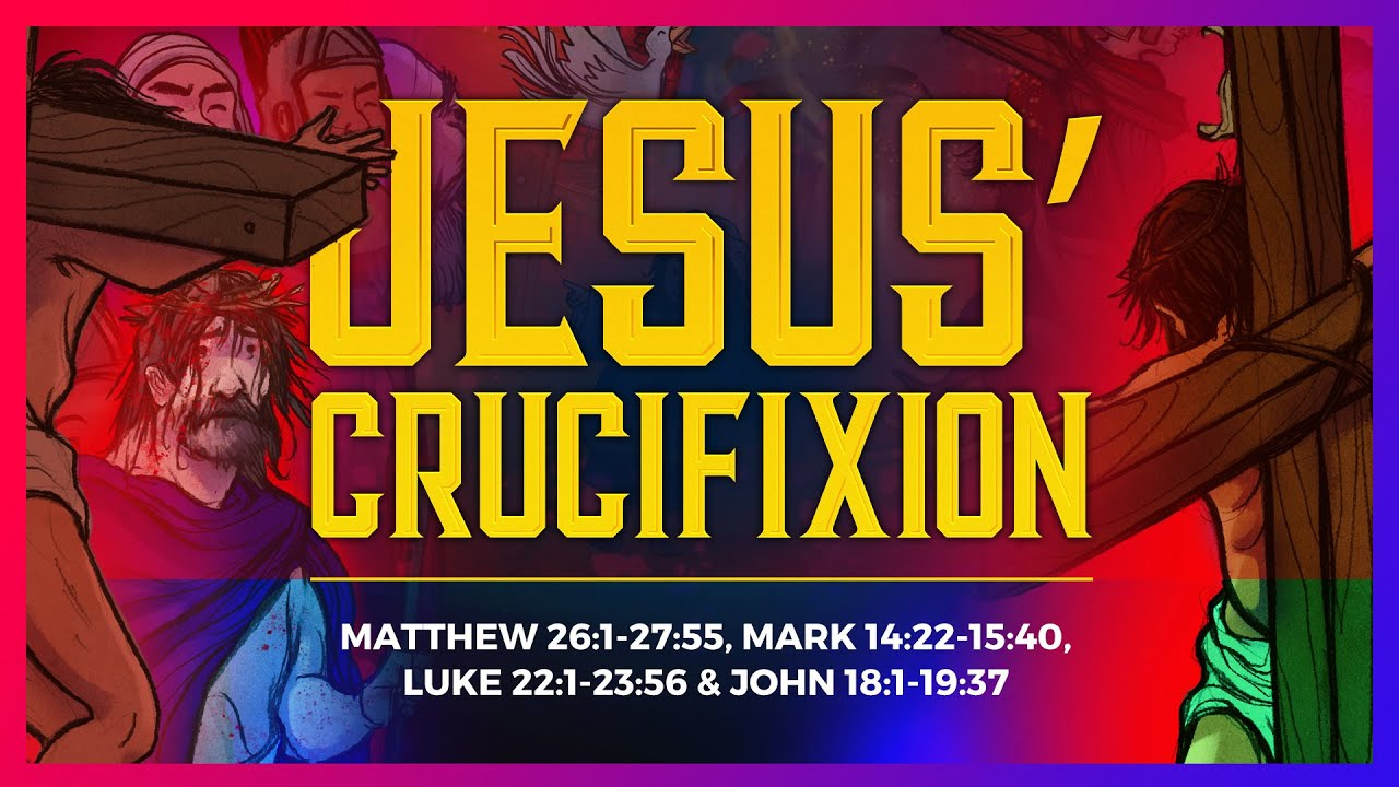 sunday lessons the crucifixion easter story for kids from