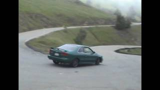 Nissan B14 200SX SE-R On Mt. Hamilton