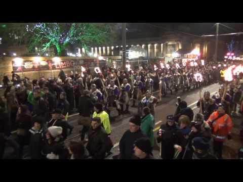 Edinburgh Torchlight Procession 2016