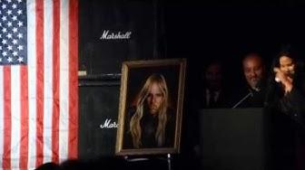 Jeff Hanneman Memorial (Statement from Hanneman's widow, Kathryn) @ The Hollywood Palladium 5-23-13