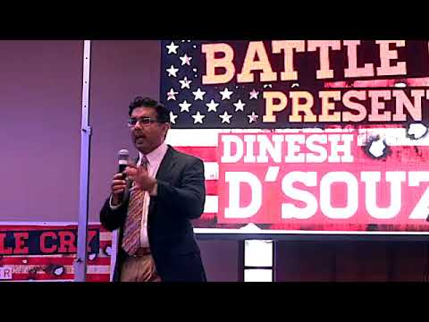 DINESH D'SOUZA AT BATTLE CRY 2018