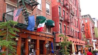 LITTLE ITALY, NEW YORK Then and Now 7-4-2014 HD 1080p