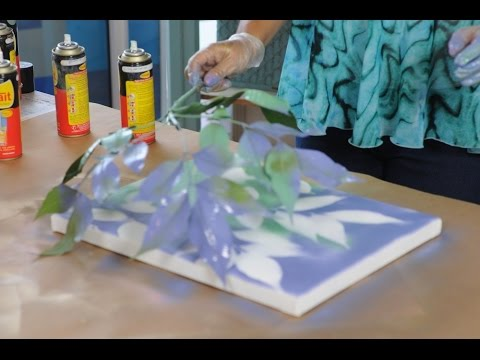 Pintar con aerosol canvas art pintar cuadros facil - Pintar cuadros faciles ...