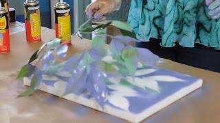 Pintar con Aerosol -  Canvas Art  - Pintar cuadros facil -