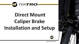 Direct Mount Caliper Brąke Installation and Setup