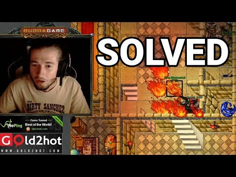 Bubba Solved Serpentine - Tibia on Twitch #week15