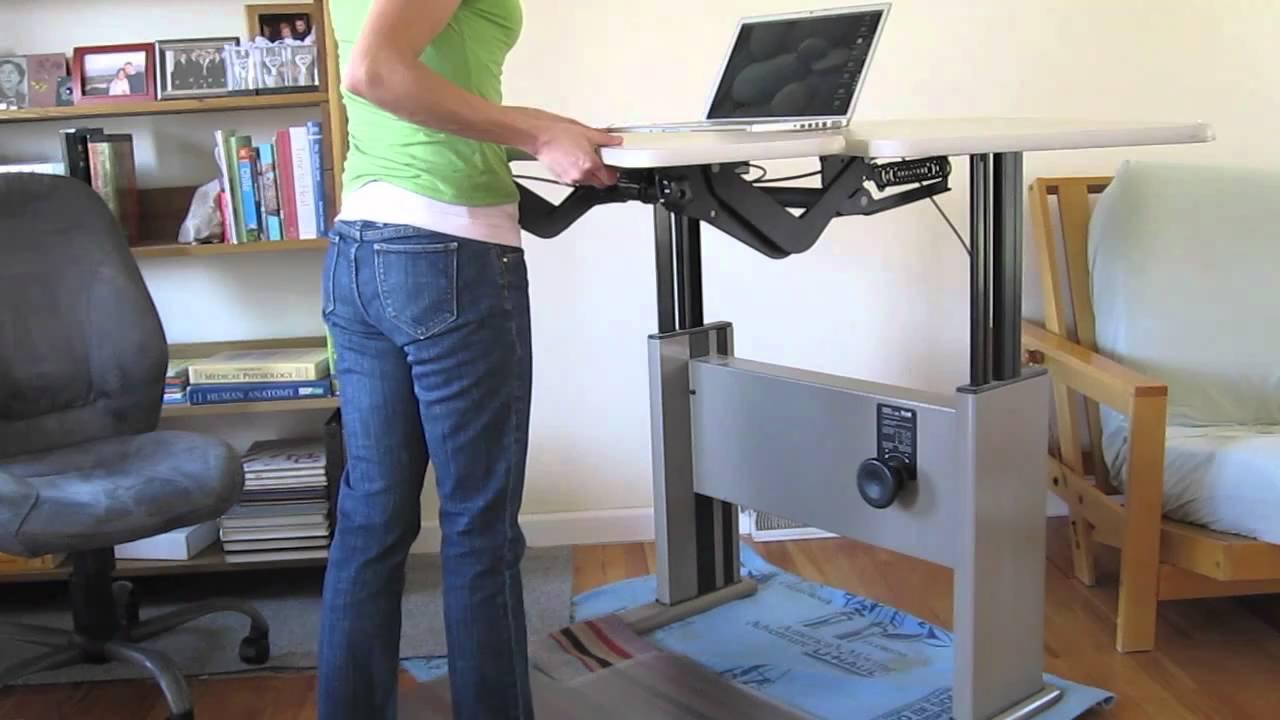 Knoll Adjustable Corner Desk Youtube
