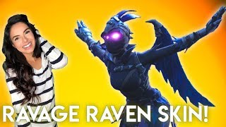 *New Ravage Female Raven Skin!* Solo Fortnite Battle Royale! // 740 Wins, 🗯️PS4
