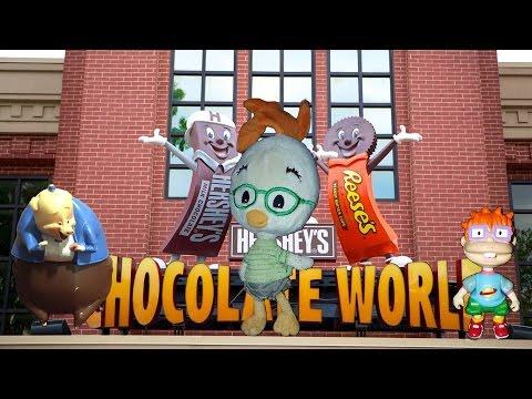 CL&F Movie - Hershey's Chocolate World!