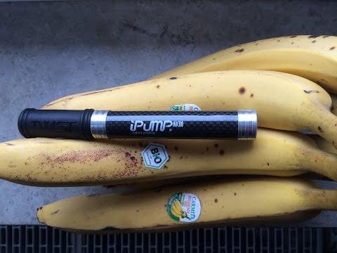 Самый лёгкий и маленький насос для велосипеда iPump Micro/Twist