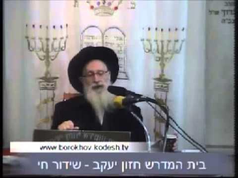 הרה''ג יעקב יוסף זצוק''ל עוד מהלכות טו' בשבט התשע''ג 2