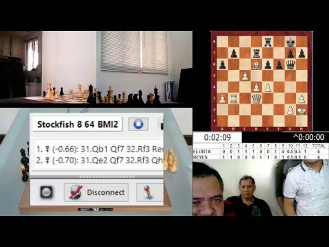 Elorta - Reyes Blitz match