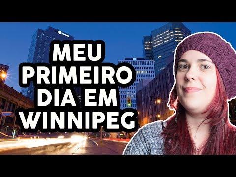 CONHECENDO AS RUAS DE WINNIPEG | WINNIPEG | VIAGEM PELO CANADÁ #25 | KITTY NO CANADÁ