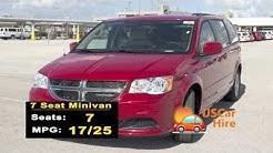 US Car Hire: 7 Seater Minivan