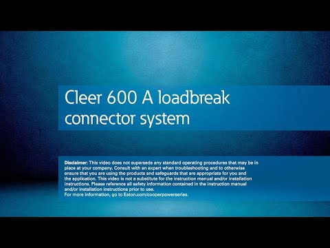 Cleer 600 A loadbreak connector system overview