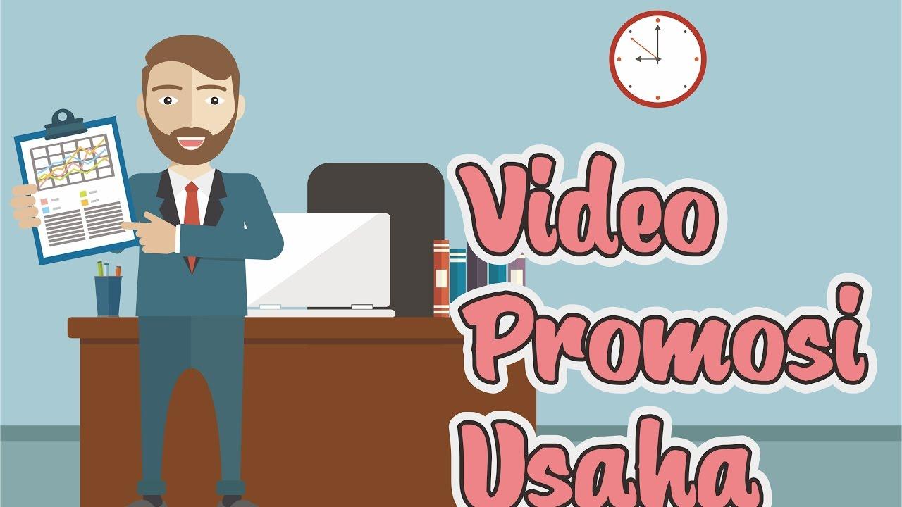 Video Promosi Usaha Animasi - YouTube