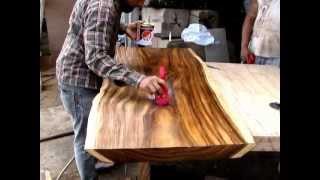 Suar Life Edge Wood Coffee Table