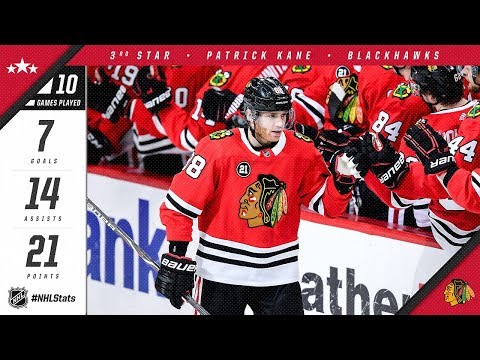 Patrick Kane picks up the NHL's Third Star of the Month