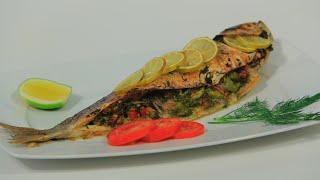 سمك بوري بالليمون | هشام السيد