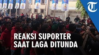 Video Suasana Stadion Laga PSM Vs Persija Jakarta Ditunda lalu Suporter Marah