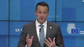 #Brexit - 'We have a unique solution that recognises Ireland's unique history and geography'