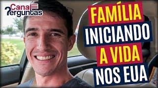 Família iniciando a vida em Massachusetts, EUA ✔