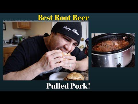 Pulled Pork In Root Beer