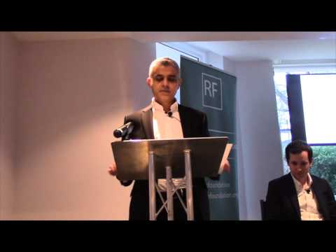 Sadiq Khan speaks to Resolution Foundation about living standards in London