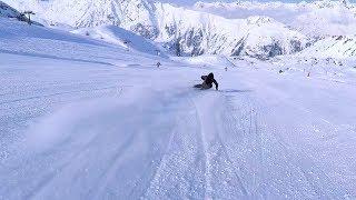 Skifahren - Kann Skifahren in Ischgl noch geiler sein? | Bergwiesenglück Chalet Edition