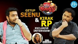 Jabardasth Comedians Getup Seenu and Kirak RP Exclusive Interview || Talking Movies With iDream #266