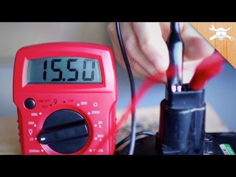 Power Tool! Use a Digital Multimeter To Find Voltage, Resistance, & Amperage!